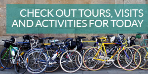 Check out tours, visits, and activities for today
