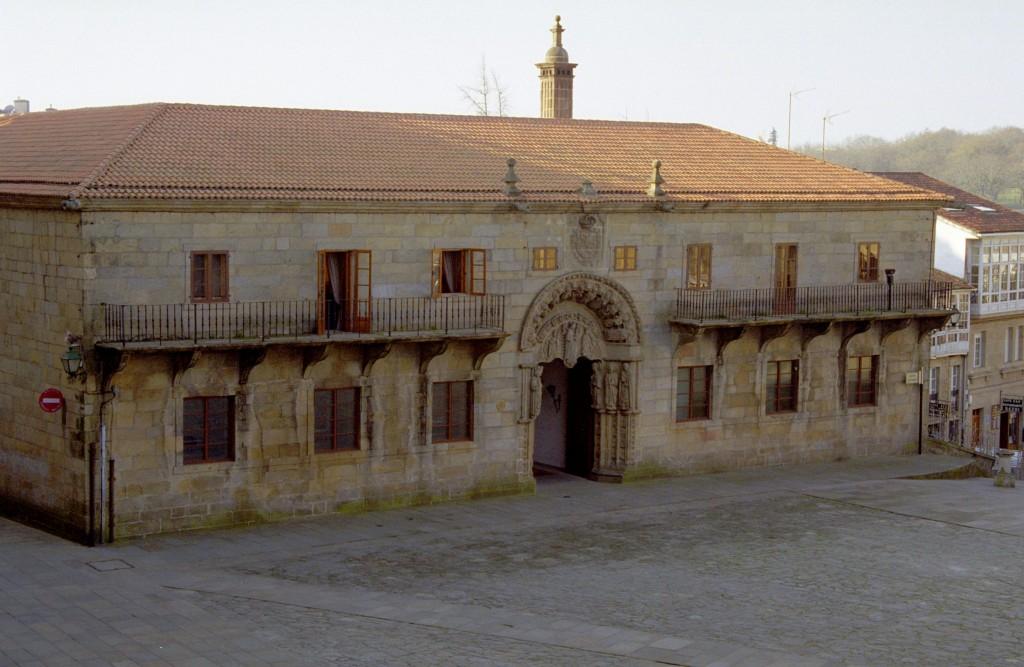 Colegio de san xerome monumentos web oficial de for Oficina de turismo santiago de compostela