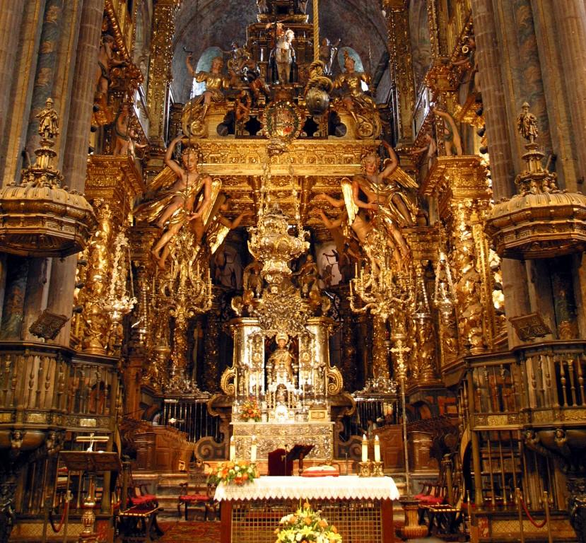 Storia della cattedrale di santiago camminando for Tempio di santiago