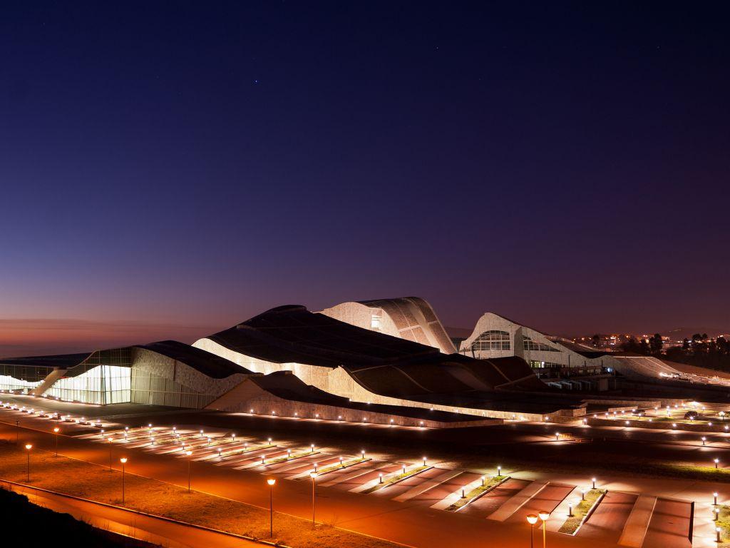 Cidade da Cultura de Galicia  Arquitecturas de autor ...