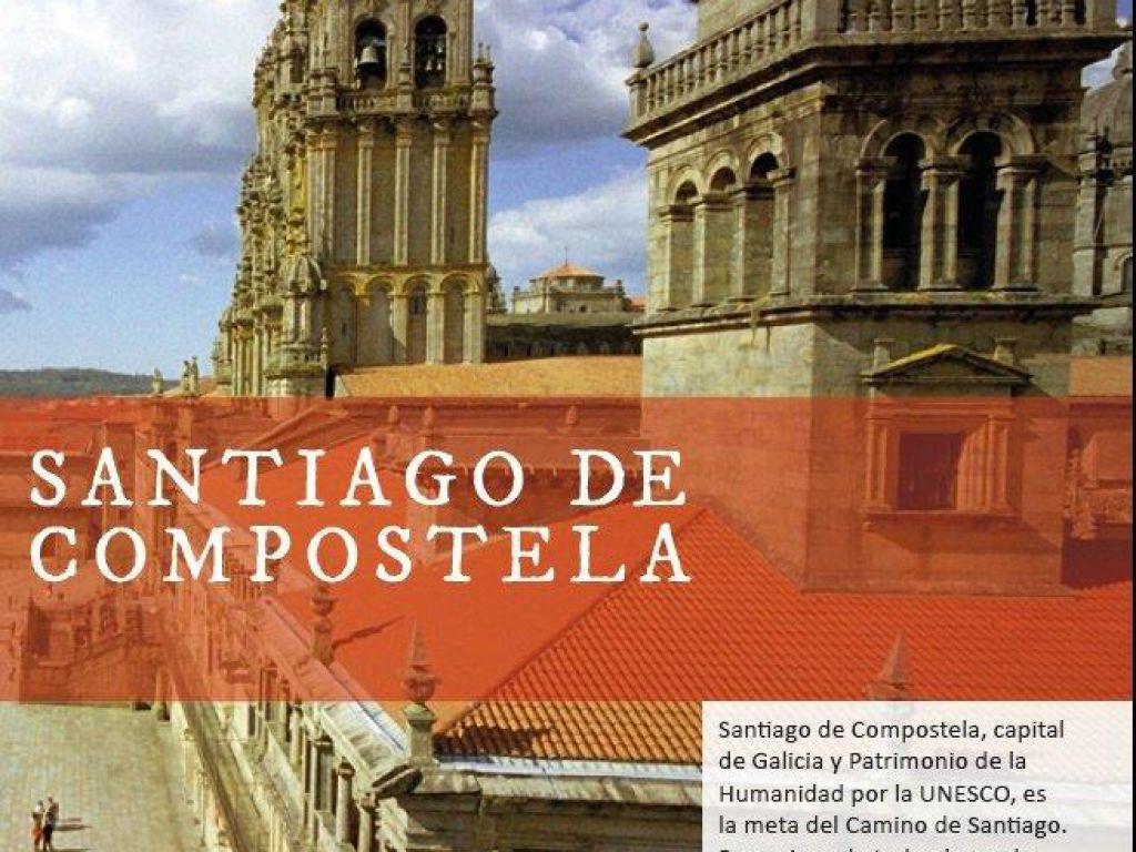 Flyer gratuito publicaciones web oficial de turismo de for Oficina de turismo santiago de compostela