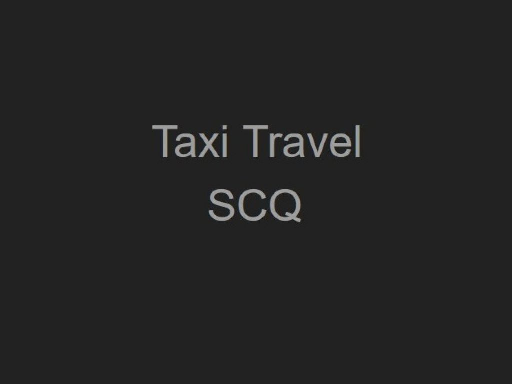 Taxi Travel SCQ