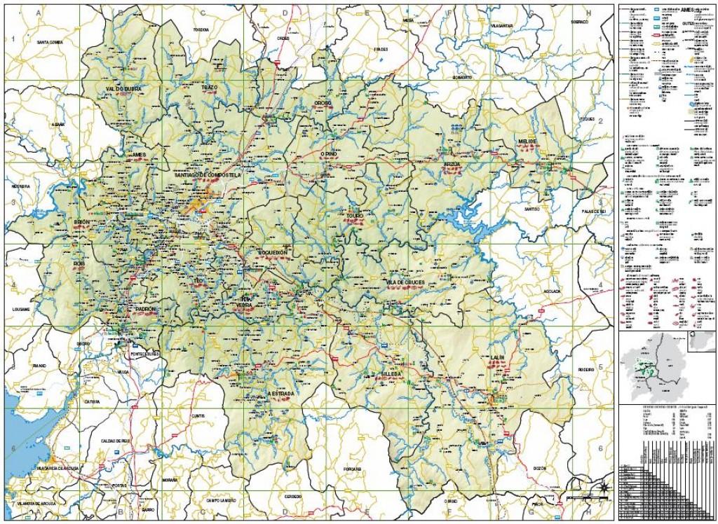 Mapa rea santiago descargas web oficial de turismo de for Oficina de turismo santiago de compostela