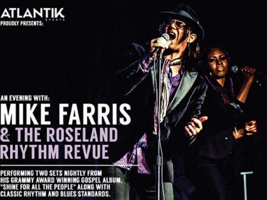 Concert By Mike Farris and The Roseland Rhythm Revue