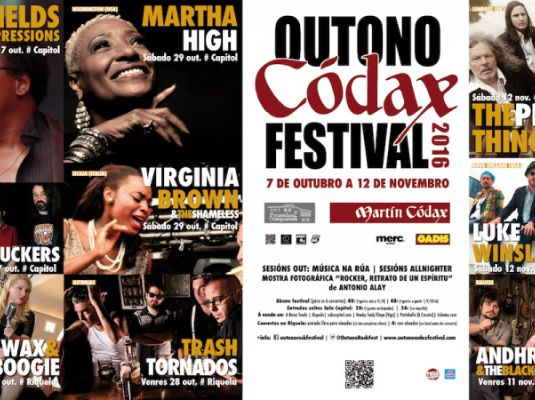 Outono Códax Festival 2016. Concert by Andhrea and The Black Cats