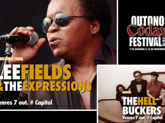 Outono Códax Festival 2016. Concert by Lee Fields & The Expressions + The Hellbuckers