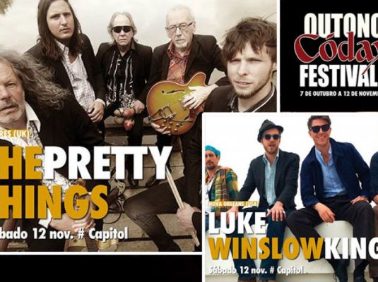 Outono Códax Festival 2016. Concert by Luke Winslow King + The Pretty Things