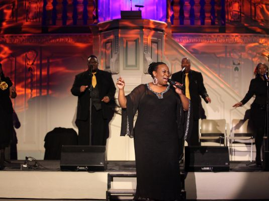 Ingrid Arthur & the Black Gospel Voices of America + Hot Swing Revue