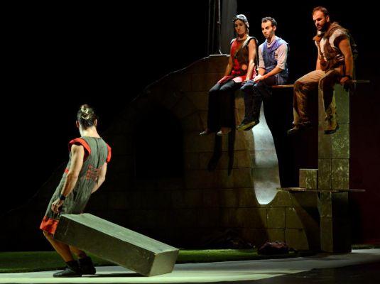 'DES-Hábitat', Vaivén Circo
