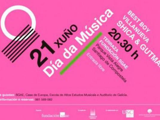 'Día de la Música en Santiago de Compostela'