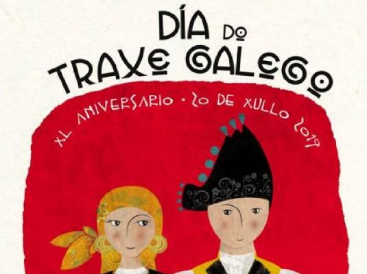 Día do Traxe Galego. Apóstolo 2019