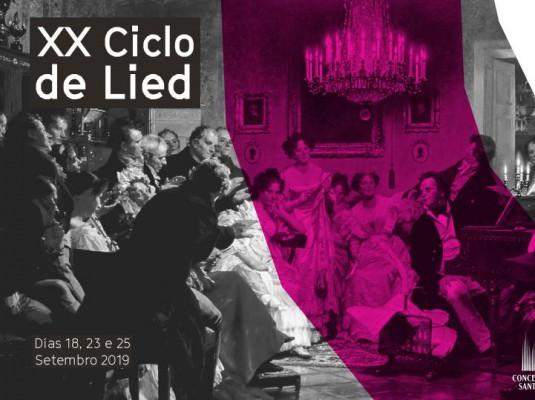 'XX Ciclo de Lied'