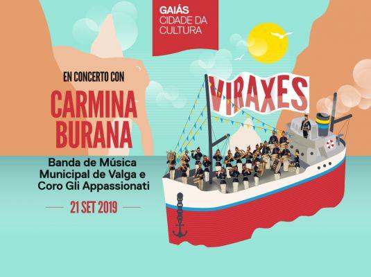 'Viraxes: En concerto con Carmina Burana. Banda de Música Municipal de Valga'
