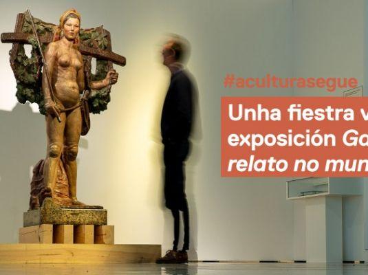 Virtual window to Galicia, un relato no mundo