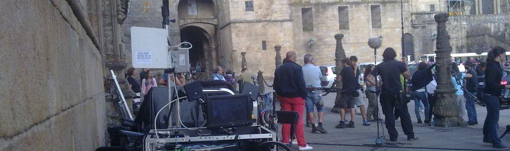 """Remata en Santiago el rodaje del largo """"El peregrino: la mejor historia de Paulo Coelho"""""""