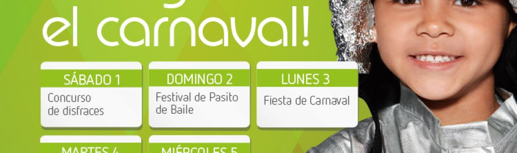 Carnaval en el CC As Cancelas