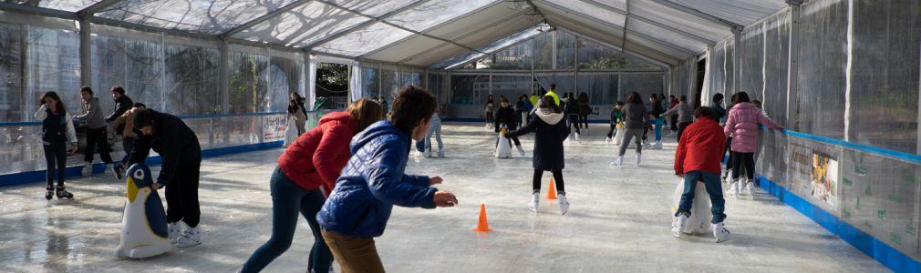 Navidad 2014: Pista de patinaje sobre hielo
