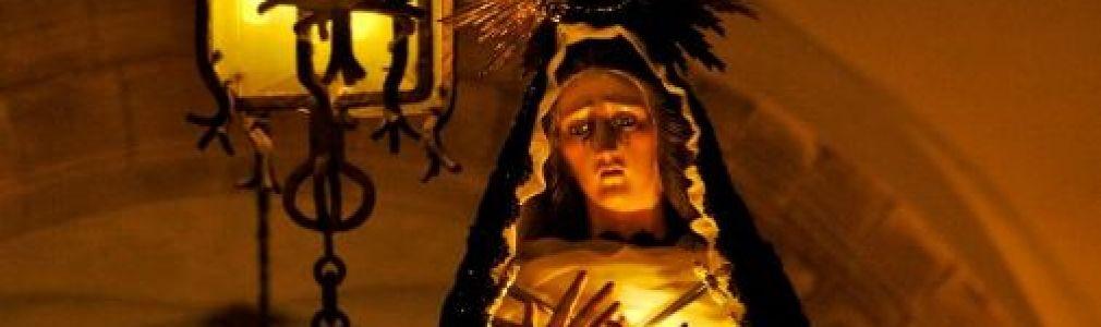 Semana Santa 2012: Procesión de la Virgen de la Soledad