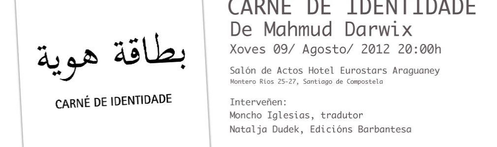 Presentación del libro 'Carné de identidade'