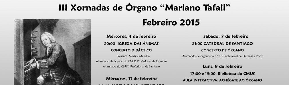 III Jornadas de órgano 'Mariano Tafall': Aula Interactiva