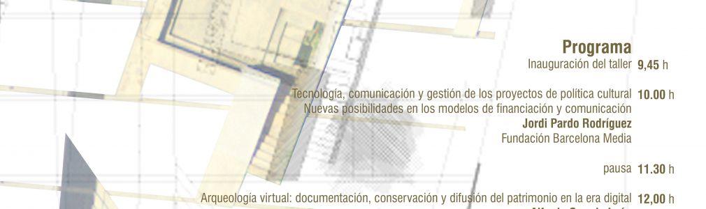 Jornada 'Análisis de la aplicación de las nuevas tecnologías a la arqueología'