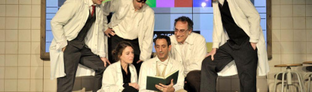 Ciclo 'Teatro en xira': 'La colmena científica o el Café de Negrín'