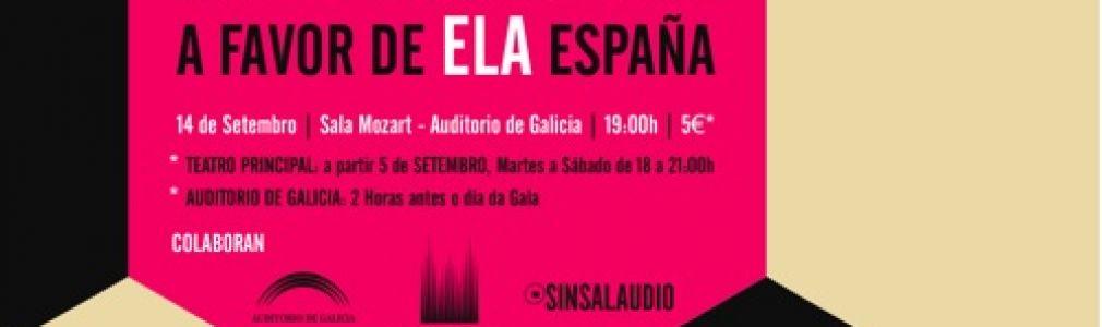 Gala Solidaria a favor de ELA España