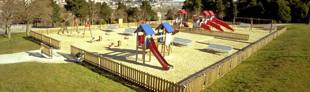 Childrens playgrounds. To play safely