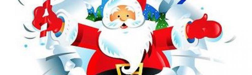Iglú: visita de Papá Noel