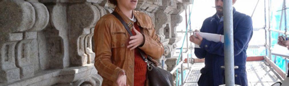 Visitas guiadas a las obras de restauración de la torre norte de la Catedral