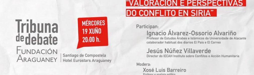 VIII Tribuna de Debate: 'Valoración y perspectivas del conflicto en Siria'