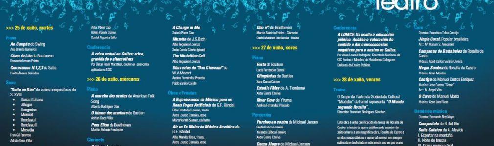 Semana cultural de la Asociación Musical Solfa