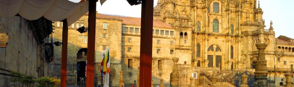 Hostal dos Reis Católicos - Terrace at the Obradoiro Square