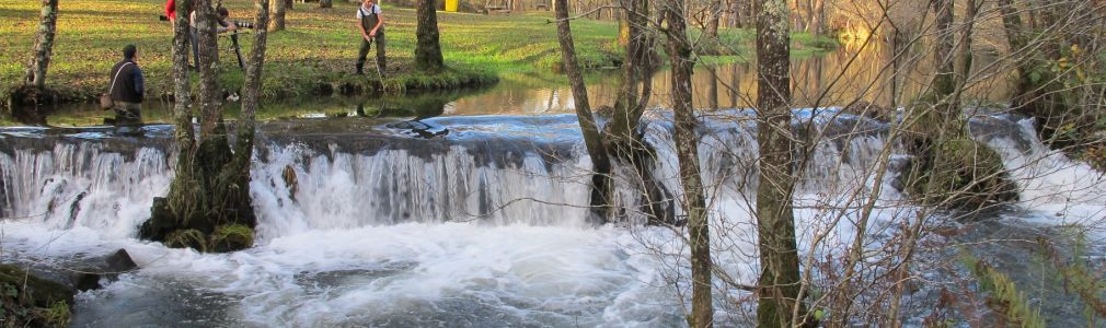 River Lañas free angling area