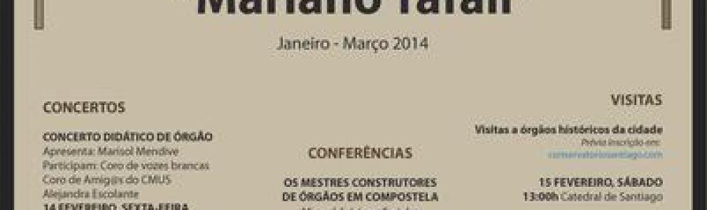II Jornadas de órgano 'Mariano Tafall'
