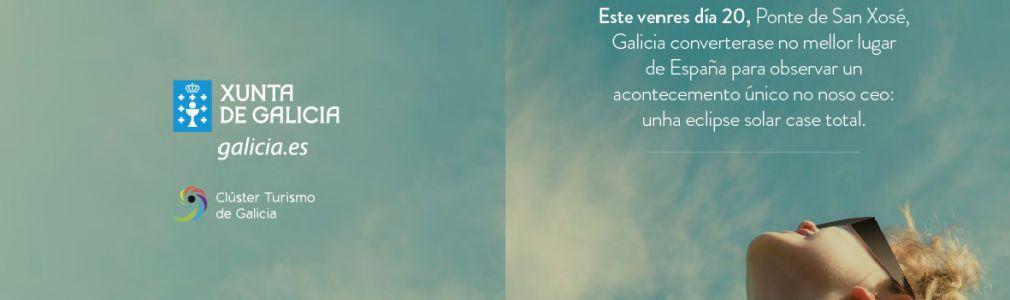 'De Galicia al cielo': Eclipse solar