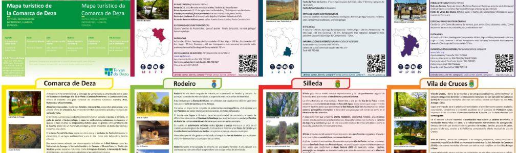 Lalín: Mapa turístico Comarca do Deza