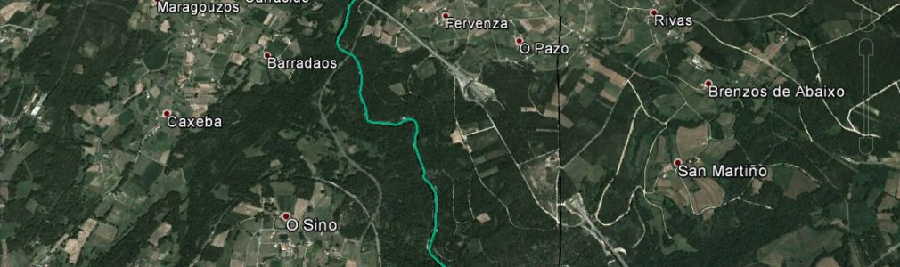 River Deza section for free, catch-and-release angling (section 1)