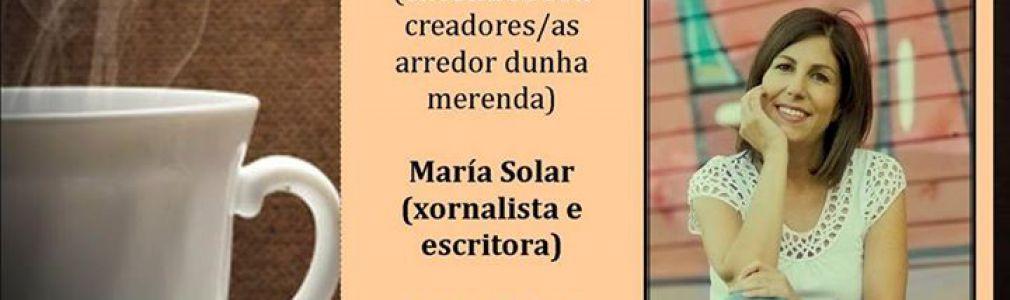 'Café con... ': María Solar