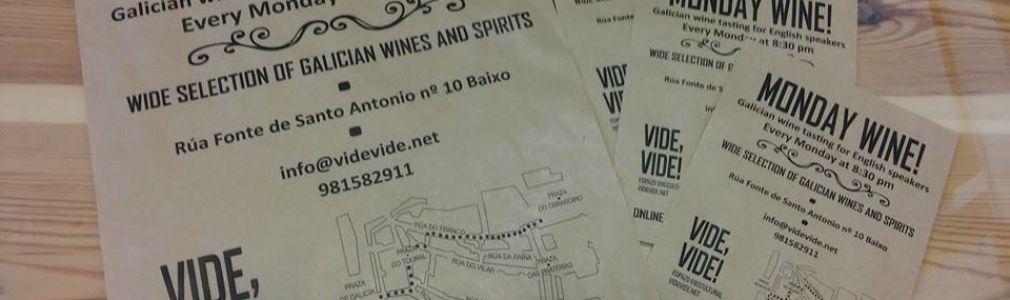 'Monday Wine' en Vide,Vide!