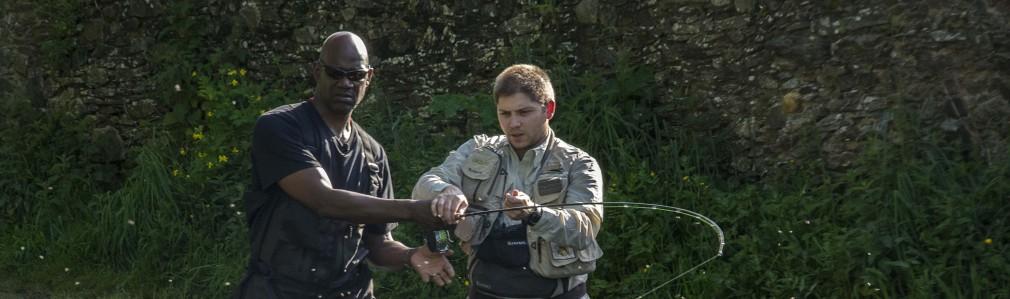 Ser guía de pesca en Área Santiago