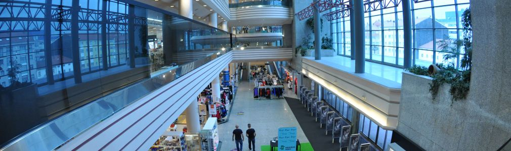 Centro Comercial Compostela (Hipercor y tiendas El Corte Inglés)