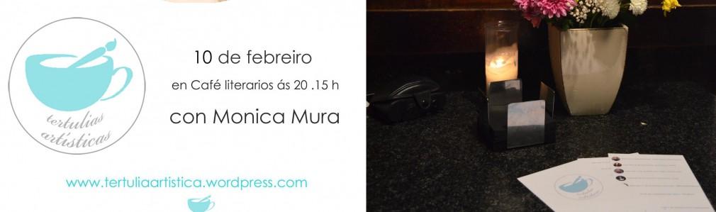 Tertulia con Monica Mura