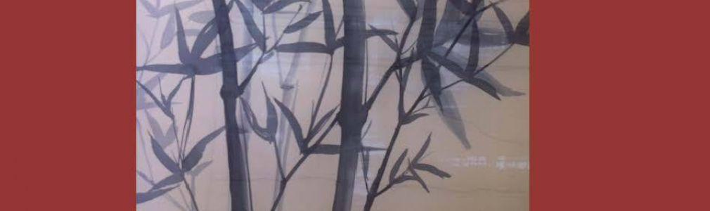 Taller de pintura sobre seda
