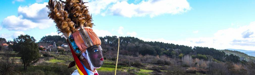 La recuperación de 'As bonitas', máscaras tradicionales de Sande (Cartelle)