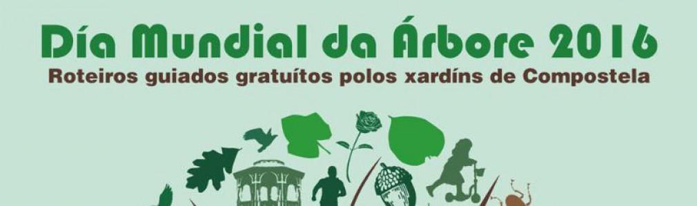 'Día Mundial del Árbol 2016': Rutas guiadas por los jardines de Compostela
