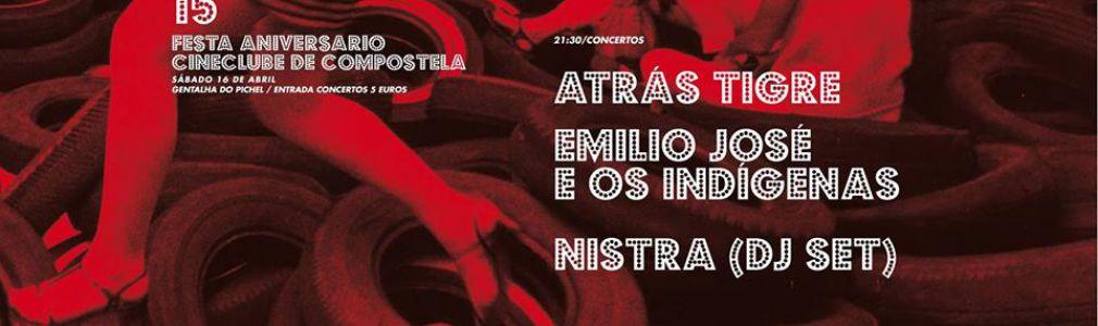 Fiesta 15 Aniversario Cineclube Compostela