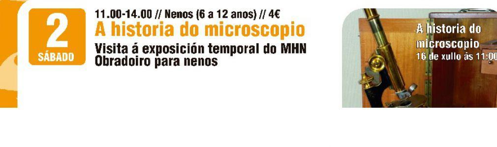 Visita guiada infantil a la exposición 'Historia del microscopio a través de la colección 'Camacho e Pallas'