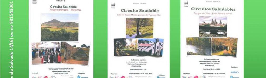 'Circuítos Saudables': CS Fontiñas - Monte Viso