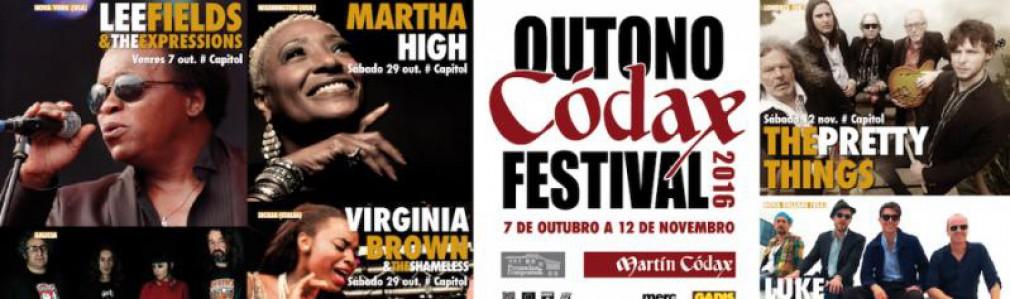 Outono Códax Festival 2016. Concierto de Andhrea and The Black Cats